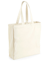 Baumwolltasche W108 Westford Mill Canvas Classic Shopper