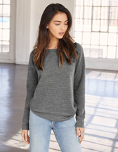 Bella+Canvas Sponge Fleece Wideneck Sweatshirt - 280 g/m² - Artikel 207.06 - 7501