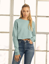 Bella+Canvas Women's Cropped Crew Fleece - 220 g/m² - Artikel 203.06 - 7503