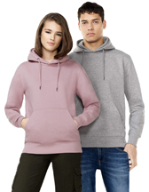 COR51P Continental Clothing Organic Hooded Sweatshirt