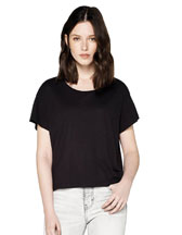 N46 CONTINENTAL CLOTHING WOMEN'S BOXY ECOVERO T-SHIRT