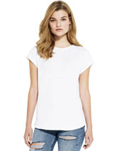 T-Shirt SA16 WOMENS ROLLED SLEEVE Continental Clothing aus 100% Recyclingmaterial
