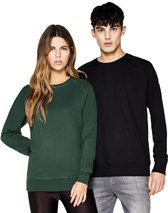 SALVAGE Raglan Sweatshirt CONTINENTAL CLOTHING SA40 Continental Clothing aus 100% Recyclingmaterial