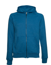 SALVAGE Hooded Sweatshirt CONTINENTAL CLOTHING SA41P Continental Clothing aus 100% Recyclingmaterial
