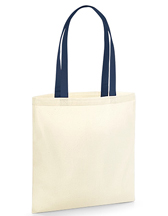 Westford Mill W801C EarthAware™ Organic Bag for Life - Contrast Handles