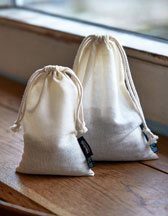 Neutral Cotton Bag with Draw Strings O95025