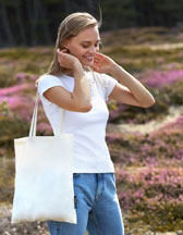 Neutral Shopping Bag with Long Handles O90014