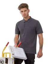 B & 543.42 PUC11 Workwear Blended Pocket Polo